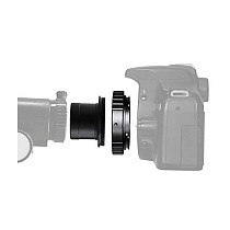 BGNING 1.25 inch Telescope w / T2 T Mount for Camera Lens Adapters Ring For Canon T2-EOS for Nikon for Olympus T2-AF for SONY / Minolta for Pentax