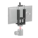 BGNING 50-100mm Adjustable Universal Mobile Phone Cellphone Selfie Clip Clamp Holder Stand U Shape Mount Self-timer Bracket Rack