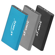 XT-XINTE Mini SATA SSD Drive Disk mSATA to USB 3.0 5Gbps External Portable Mobile Box Enclosure Case Aluminum Alloy Support 4TB for Laptop PC