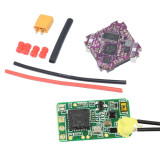 JMT Supra F4 Flight Controller with OSD BEC and 12A BL_S 2-4 S 4In1 ESC with XM + + / f4 PRO V3.0 Flight Controller FRSKY / NR502T-F2 Receiver for BASKET Mini FPV Drone