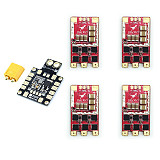 HGLRC T-Rex 35AMP BLHeli_32 3-6 S ESC Dshot1200 with PDB XT60 Power Distribution Board for FPV racer Drone Quadcopter