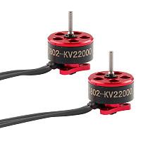 Happymodel 2pcs SE0802 0802 1-2S Brushless Motor 1.0mm 22000KV 25000KV 0.8mm 14000KV Shaft Diameter Mini Motors for Indoor FPV Racing Drones