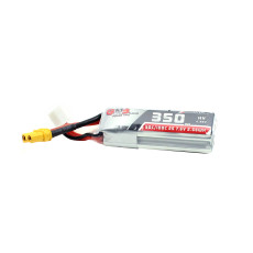 GNB Beta75X 350mAh 50C 2S Lithium Battery XT30 For Indoor Quadcopter Drone Aircraft