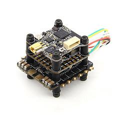 HGLRC FD435-VTX STACK 20X20 3-6S FD F4 Mini Flight Controller 35A BL32 4in1 ESC FD VTX Mini for DIY FPV Racing Drone