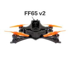 HBFPV FF65 V2 65mm 2.5 Inch 4S Toothpick FPV Racing Drone PNP / BNF with F4 FC OSD 12A Blheli_S ESC 1103 7000KV Motor RunCam Nano2 Camera VTX