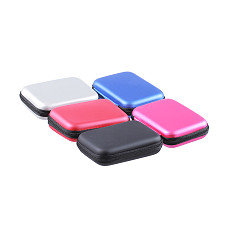 XT-XINTE 2.5 inch External Hard Drive Disk Protective Case HDD SSD Carry Bag Portable Pouch USB Cable Power Bank Organizer Storage Box