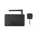 JMT 5.8G 48CH 4.3 Inch LCD Screen FPV Monitor With 14DBI High Gain Flat Panel FPV Antenna RP-SMA for FPV Racing Drone Quadcopter
