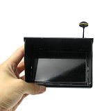 JMT 5.8G 48CH 4.3 Inch LCD Screen FPV Monitor With 14DBI High Gain Mushroom FPV Antenna RP-SMA for FPV Racing Drone Quadcopter