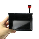 JMT 5.8G 48CH 4.3 Inch LCD Screen FPV Monitor With FPV Antenna RP-SMA for FPV Racing Drone Quadcopter