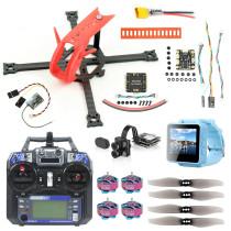 QWinOut Lefei137 137mm DIY FPV Racing Drone Kit with MiniF4 FC 15A 4IN1 ESC 1204 5000KV 3-4S Motor Tarsier V2 4K FPV Camera FS I6