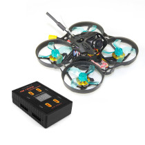 GEELANG ANGER 75X Whoop 3-4S FPV Racing Drone Quadcopter 1202 6900kv 4S PNP / BNF with P4 1-6S XT30 Parallel Charging Board