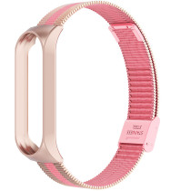 FCLUO Metal Milanese Wrist Band for Mi Band 4 3 Strap Smart Bracelet Accessories for Xiaomi mi band Stainless Steel Buckle Version