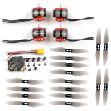 Happymodel EX1105 3-4 S 5200KV Engine with Crazybee F4 PRO V3.0 Flysky Flight Control / Frsky RX 3018 3 inch Propeller for DIY FPV Mini Drone