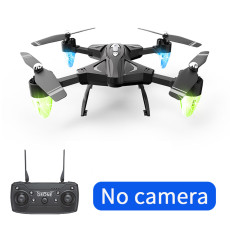 Feichao Foldable Drone F69 WiFi FPV RC Helicopter Optical Flow 1080P HD Camera Wide Angle Holdable Aerial Video Training Toy Selfie Dron