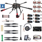 RC Hexacopter Drone 6-axis Aircraft Kit Tarot FY690S Frame 750KV Motor GPS APM 2.8 Flight Control No Battery NO Transmit