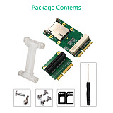 XT-XINTE Mini PCI-E Adapter with SIM Card Slot for 3G/4G WWAN HSPA MODEM LTE Mini Card GPS Card for desktop laptop computers