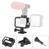 BGNing Aluminum Protection Frame Border Camera Cage for GoPro Hero 8 Black Metal Shell Housing Case with Cold Shoe Base Mount