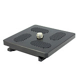 BGNING Tripod Monopods Quick Release Plate for DSLR Camera Ball Head KS1 KB1A KB1 KJ KB-0 QR-0 QR-1 KS Tripod Head Accessories
