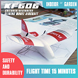Feichao KF606 RC Airplane Flying Indoor Mini Aircraft EPP Foam Glider Flexibility 2.4G 2CH Build in Gyro RC Plane Toys Kids 2019 Gifts