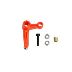 Tarot-RC 550/600 Tail Rotor Control L Arm Orange MK6067B / Green MK6067C for 550 600 RC Helicopter Model Spare Parts