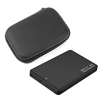 XT-XINTE HDD Case 2.5  SATA to USB 3.0 Adapter Hard Drive Plastic Case Tool 5Gbps Support UASP SSD 6TBw Storage Organizer
