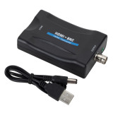 FCLUO HDMI to BNC Video Converter Compatible with PAL / NTSC