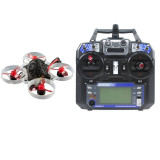 Happymodel Mobula6 1S 65mm Brushless Bwhoop Mini FPV Indoor Racer RTF with I6 Remote Crazybee F4 Lite Flight Control Batteries