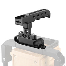 BGNING Camera Top Handle Rod Clamp Cheese Handle Grip Universal Video Stabilizing for DSLR Camera Cage Kit