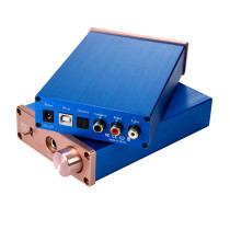 XT-XINTE Digital Audio Decoder USB DAC Input USB/Coaxial/Optical Output RCA/6.35mm 192KHz DC12V Headphone Amplifier Audio Converter