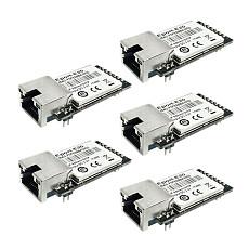 HF Eport-E20 FreeRTOS Network Server TTL Port Serial to Ethernet Embedded DHCP 3.3 V TCP IP Telnet CE Certificate