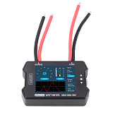 ToolkitRC WM150 150A 50V Watt Meter Power Analyzer LCD Display Power Voltage Current Tester PWM Output for RC FPV Drone