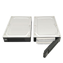 XT-XINTE 2.5inch SATA Adapter Box SSD/HDD Mobile Rack to 3.5inch with Raid New Version SATA6G 6.0Gbps