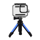 BGNing Mini Adjustable Tabletop Tripod Mount Pocket Selfie Stick Holder Camera Support with 60m Waterproof Case for Gorpo Hero 8