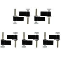 BGNING 1 pack of 10pcs BGNing Universal Aluminum Quick-Release M5 Mount Wrench Screw Adapter for Gopro YI sjcam EKEN Camera