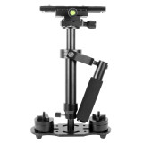 BGNing Aluminum Handheld Stabilizer Adjustable Mount for Phone DV AEE DSLR Video Camera Shooting Shake Shock Bracket Support 1KG