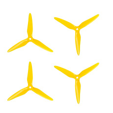 2Pairs 4PCS Upgraded DALPROP SpitFire T5147.5 5147 No Pop Wash POPO FPV Propeller CW CCW for RC Drone FPV Racing