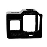 BGNING Camera Case 3D Printed TPU Material Protective Cover with Cold Shoe Seat for GOPRO8 Camera Accessories