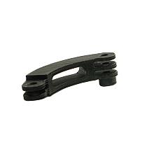 BGNING 3D printing PLA Short Bending Rod Extension Arm Single Head Clover M5 Card Sot Helmet Bracket Extension Bending Rod for GOPRO / SJCAM / Xiaomi / DJI Sports Cameras