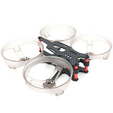 JMT Buzzbee98 98mm 3K Carbon Fiber Frame Kit 2inch Tiny FPV Racing Quadcopter Rack Support F4/F3/Tower System 19MM and 14MM FPV Camera