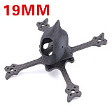 JMT Eyas100 65MM 3K Carbon Fiber Toothpick Frame Kit with 3D Print 19MM/14MM Camera Canopy for DIY RC Drone FPV Racing Quadcopter Freestyle True X