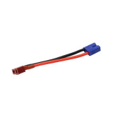 JMT T Plugs Male to Female EC3 Connector High Quality Wire Cable Adapter For RC Parts