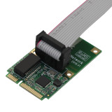 XT-XINTE Mini PCI-E Network Card Adapter 1000Mbps Gigabit Ethernet 10/100/1000M RJ45 Lan Card for XP WIN7 WIN10 Internet Free Lan Adapter