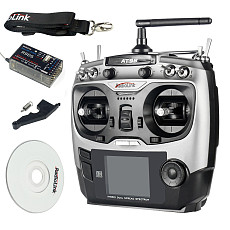 Radiolink 2PCS AT9S 2.4G 9CH System Transmitter with R9DS Receiver AT9 Remote Control update version for quadcopter Helicopter