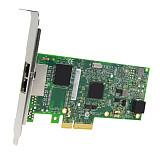 XT-XINTE PCI-E Network Card I350-AM2 PCI-E 4X Servear Dual RJ45 Port Gigabit Ethernet LAN PCIE Adapter 10/100/1000Mbps for Intel Converter