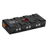 HTRC X6 4W * 6 1A * 6 Battery Charger for Micro mCP X JSt Port  1S LiPo / LiHV Battery