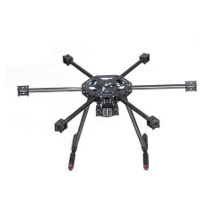 JMT X6 X600 Frame Fixed Carbon Fiber Tripod Carbon / Glass Fiber Center Board for Multi-axis Aircraft