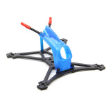 HGLRC Toothpick Parrot120Pro Carbon Fiber Frame Kit with 3D Print TPU Canopy for RC Quadcopter FPV Racing Drone