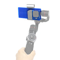 BGNING Stabilizer Conversion Splint Protection Fixing Sleeve Handheld Gimbal Connection Installation Accessories Lengthened TPU 3D Printing for Camera 8