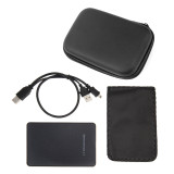 XT-XINTE 1 Set 2.5  USB 2.0 SATA HDD Box Mobile SSD Hard Drive External Enclosure Case Support 2TB with Portable Organizer Storage Box Data Transfer Backup Tool for PC Laptop
