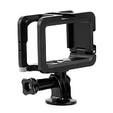 BGNing Aluminum Cage for DJI OSMO ACTION Border Frame w/ Cold Shoe Protective Case Housing Shell Vlog Sports Camera Mount Holder